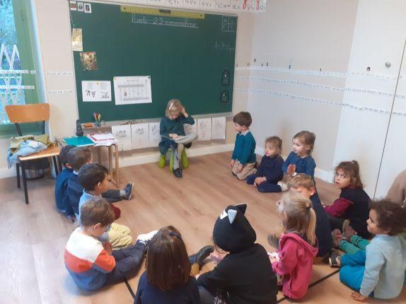 Lecture en classe